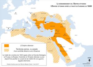 histoire de la Turquie - le démembrement de l'empire ottoman